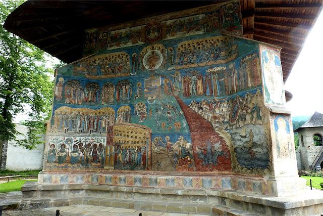 """""""El Juicio Final""""- Monasterio de Voroneţ"""