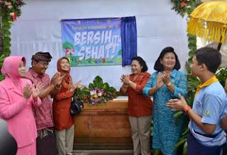 Ny. Ayu Pastika Buka Camp Sanitasi Bali 2013 Tingkat SMP