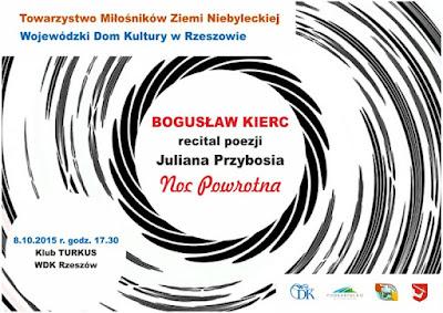 recital poezji Juliana Przybosia
