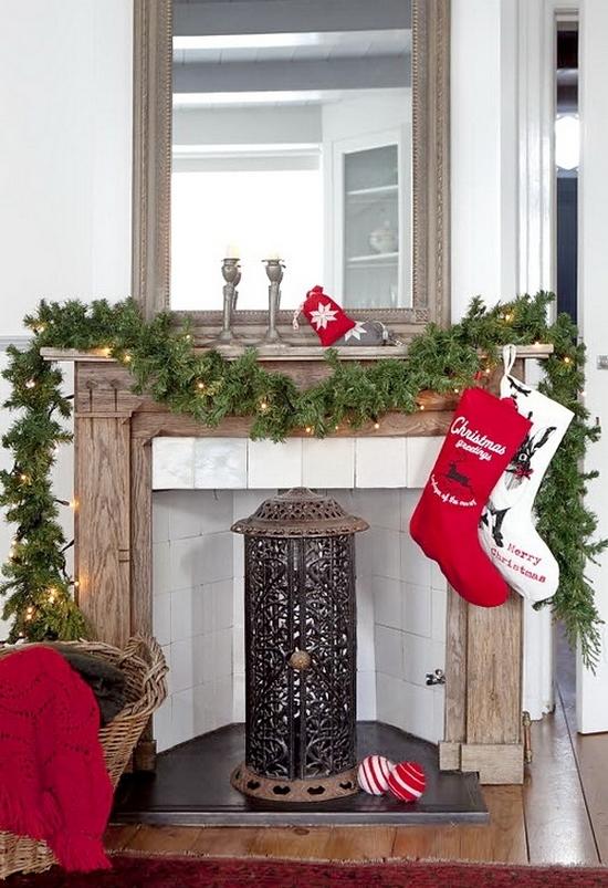 Kerstsfeer in huis zonder kerstboom - Deco kamer jongen jaar oud ...