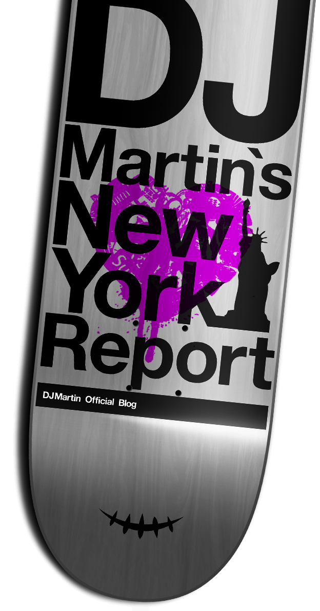 "DJ MARTIN ""New York Report"""