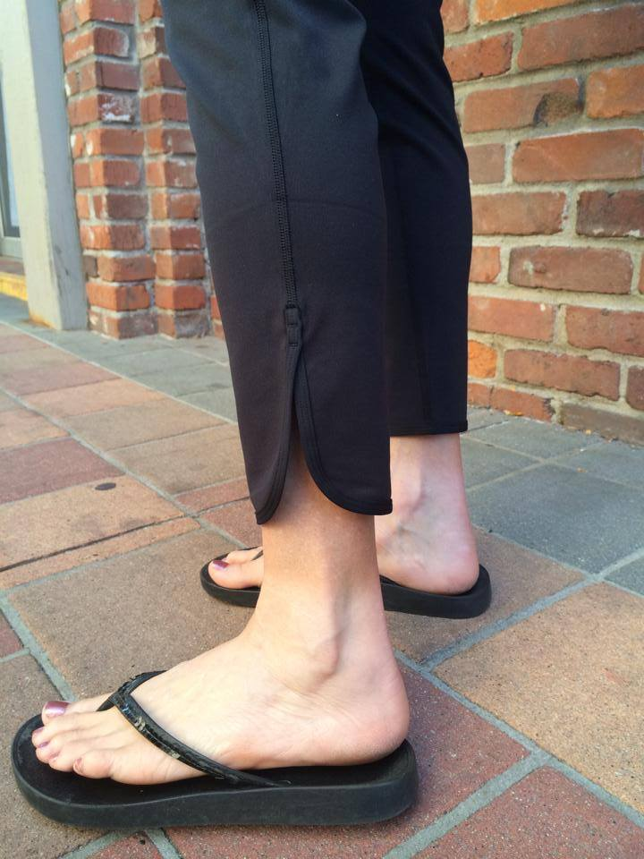 lululemon ankle detail straight to class pant