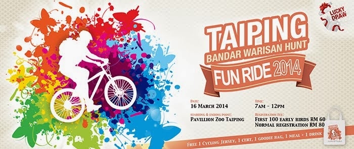 Taiping Bandar Warisan Hunt Fun Ride 2014