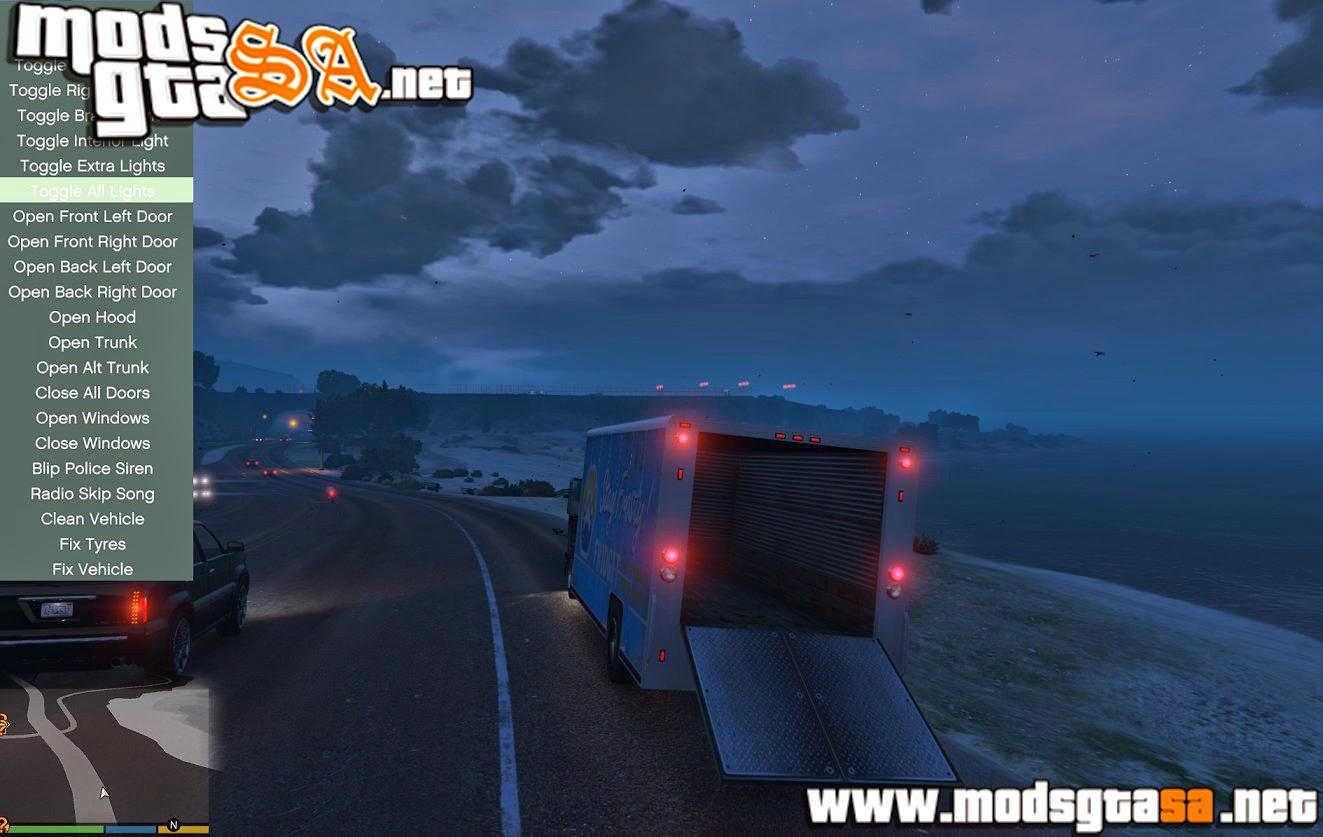 V - Mod Controles de Veículos Realistas para GTA V PC