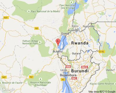 Terremoto 5,6 grados sacude la República Demaocrática del Congo