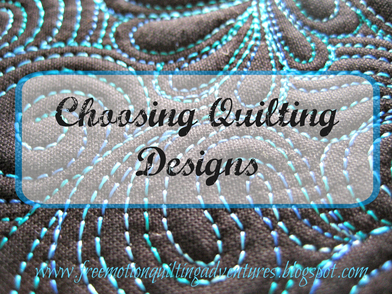 how to choose designs for your quilt