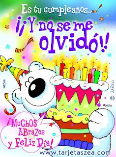 Frases Para Cumpleaños: Es Tu Cumpleaños Y No Se Me Olvidó