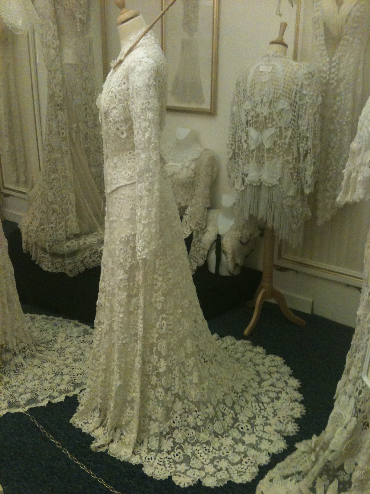 Rosemary Cathcart Antique Lace and Vintage Fashion: The Sheelin Lace ...