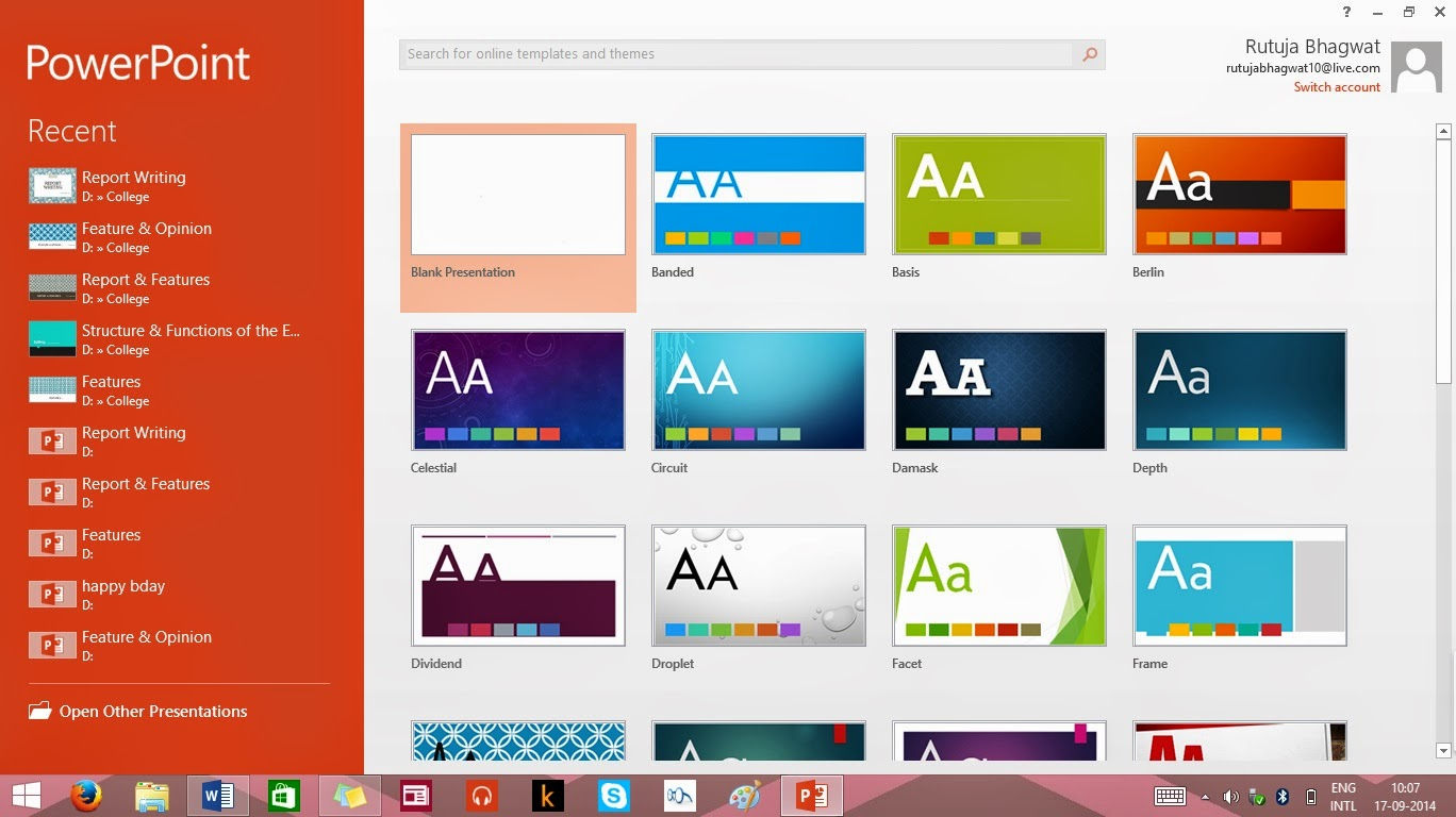 essay about microsoft powerpoint A first approach to comparison and contrast essays microsoft powerpoint 2010 comes with a review tab with different options to manage reviews in a presentation.