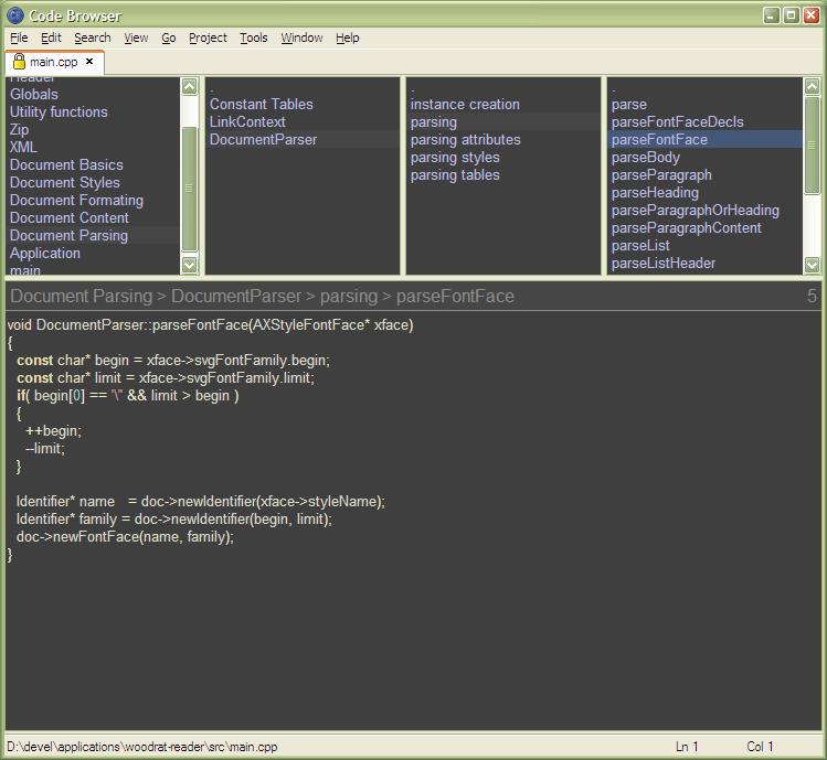 برنامج هام لكتابة وعرض وتنظيم الأكواد للمبرمجين ومصممي الويب Code Browser 5.3
