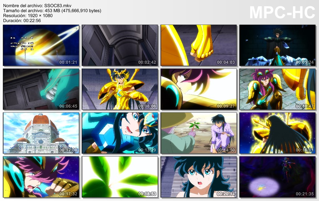 Saint Seiya Omega Temporada 2 Capitulo 32@33 (82@83)