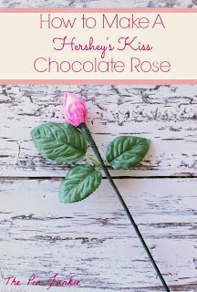 How To Make A Hershey's Kiss Chocolate Rose