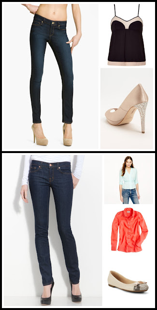 skinny jeans dressy casual