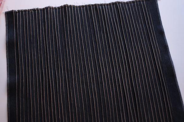 fabric manipulation · almohadón · 12 laterales fijados · Ro Guaraz