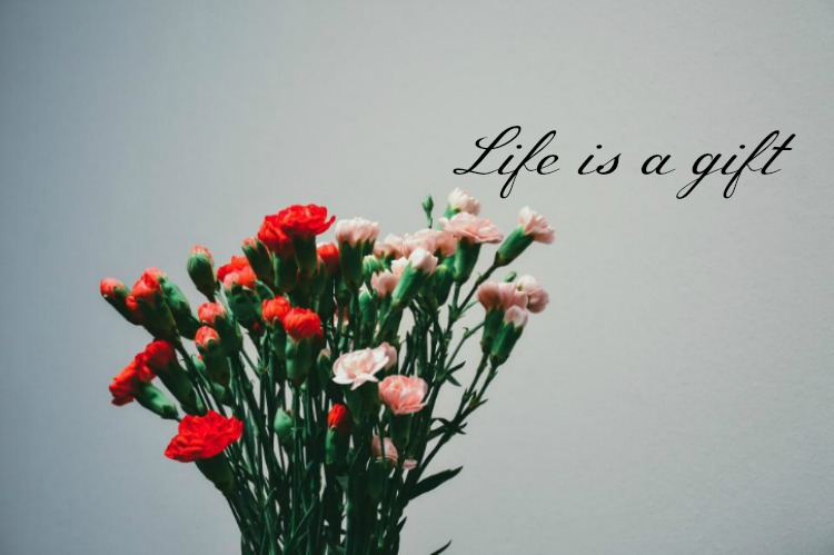 Life is a gift we should be thankful for