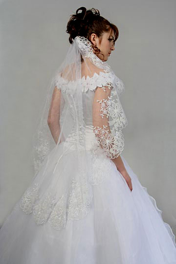 Bridal moves unique wedding veils for Wedding dress with veil