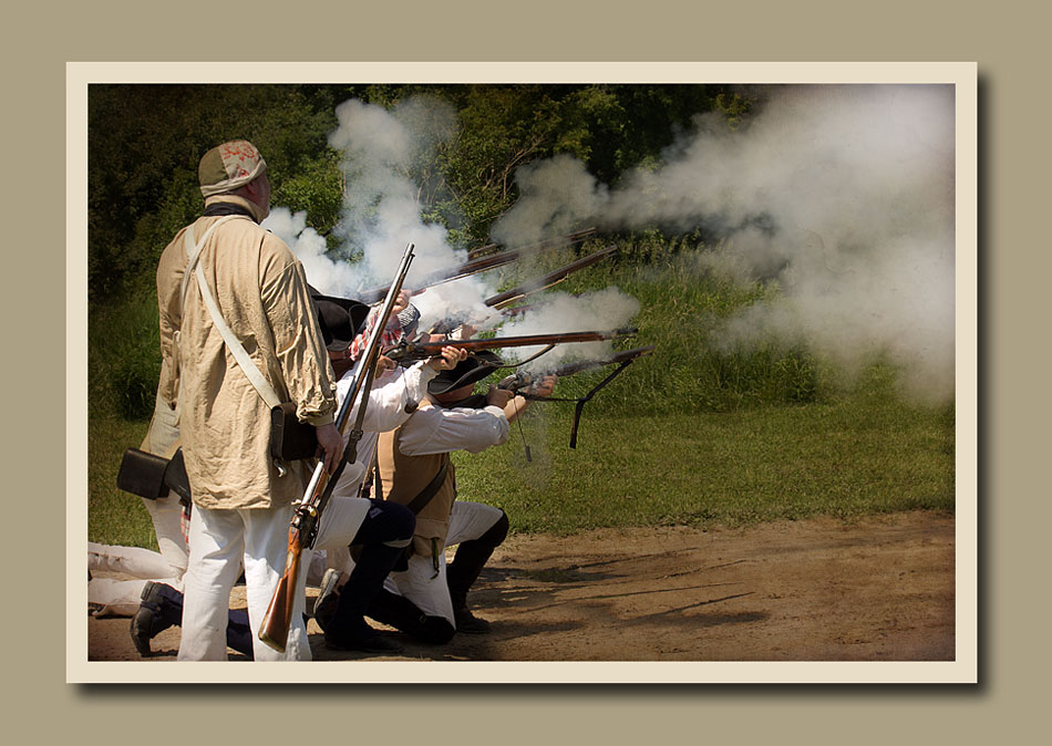 Battle of Black Creek - Pioneer Village.  Holly Cawfield Photography