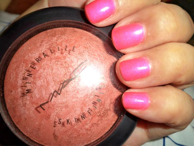 missiles and stilettos mac stereo rose skinfinish