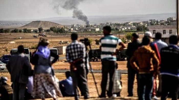 Satu Kota dekat perbatasan Turki dikepung militan ISIS