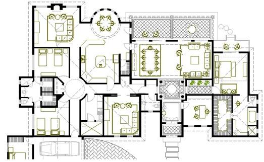 Planos arquitectonicos sena planos arquitect nicos for Dimensiones arquitectonicas