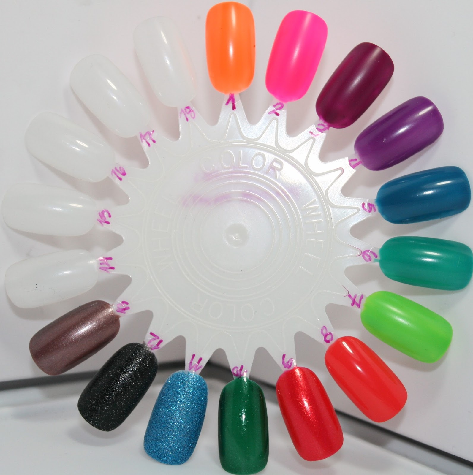 vibrancy on a brush: Nail Polish Collection & Swatches - LA Colors ...