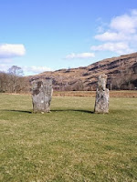 Nether Largie group of standing stones