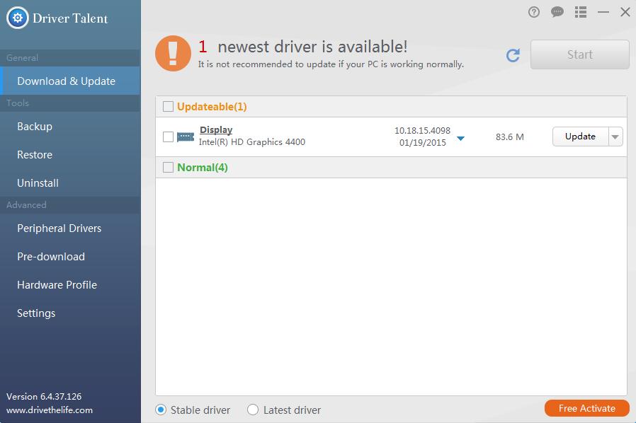 manually install drivers windows 10