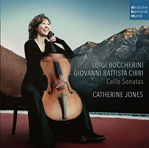 Boccherini and Cirri Cello Sonatas, Catherine Jones, Deutsche Harmonia Mundi
