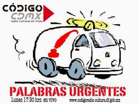 """HAZ CLICK Y ESCUCHA """"PALABRAS URGENTES"""""""