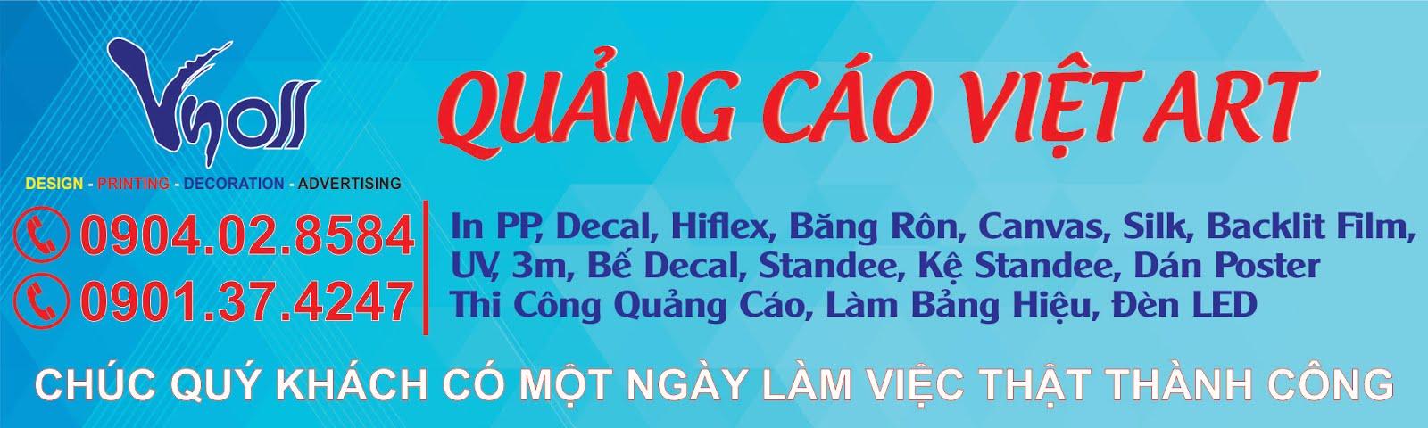 In PP, In Decal, In Hiflex, Standee, Thi Công Quảng Cáo Giá Rẻ