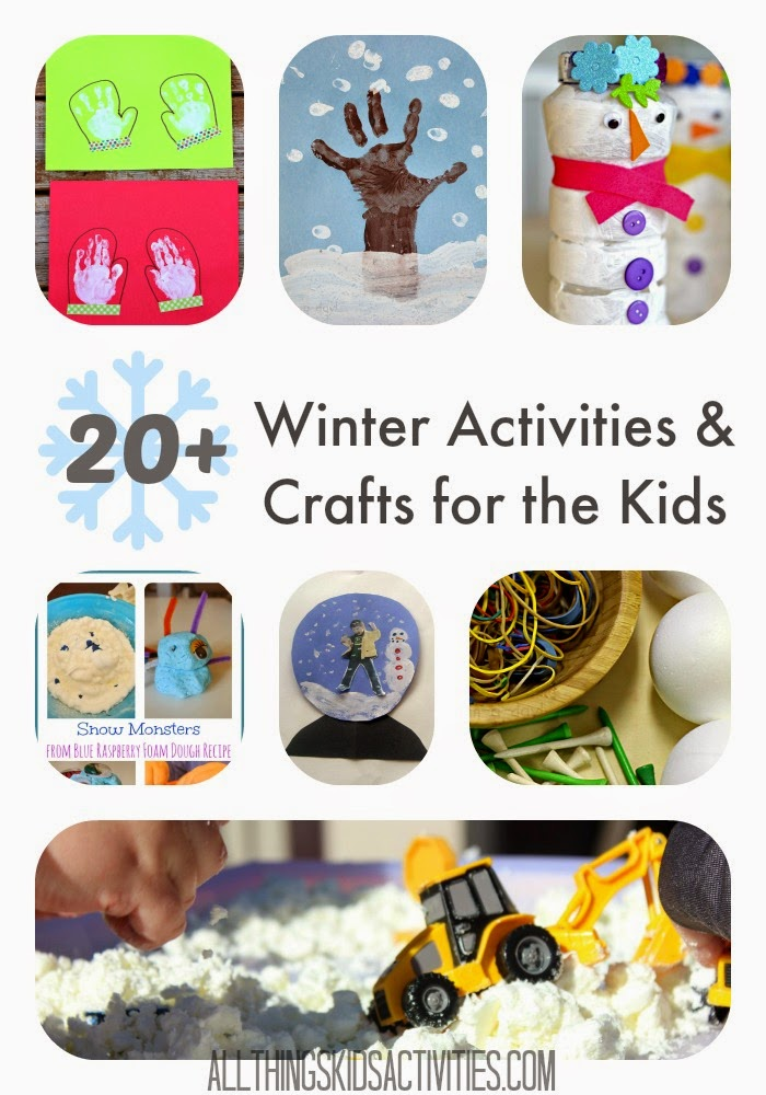 20+ Winter Activities and Crafts for the Kids