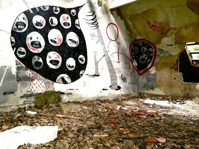 Flussperle Weißensee Kinderklinik Krankenhaus Klinikum Graffiti
