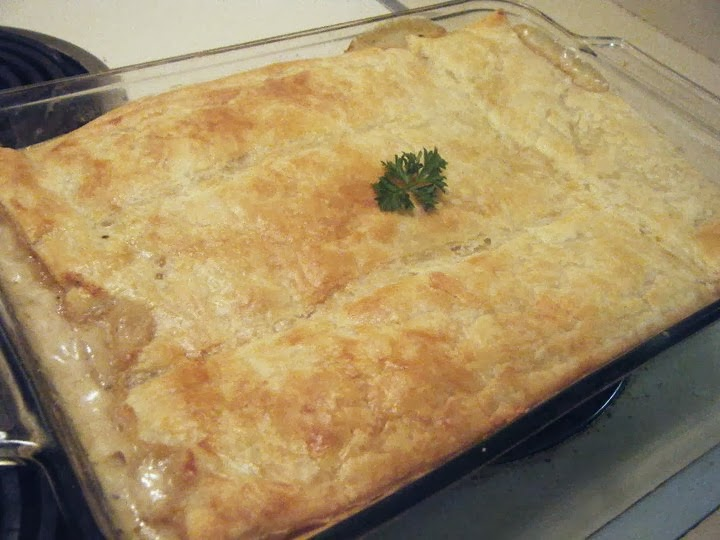 SoulfoodQueen.net: Easy Chicken Pot Pie Recipe