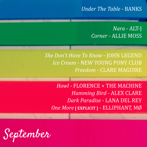 SeptemberPlaylist