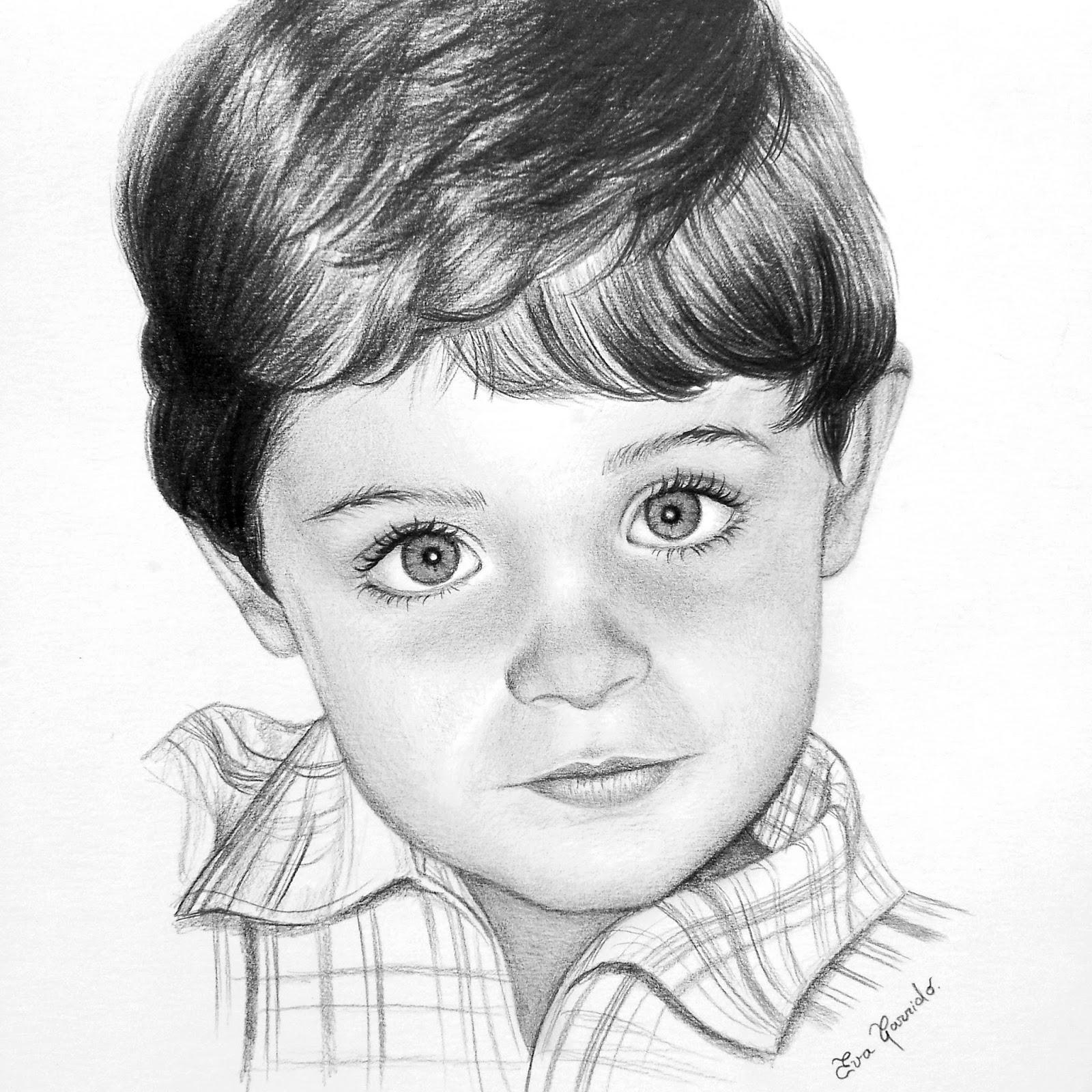 Retrato niño | Eva Garrido Romero