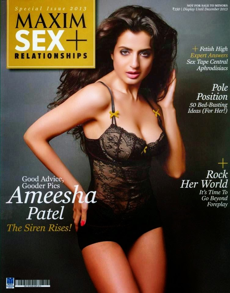 Ameesha Patel hot and sexy Maxim Unseen Images