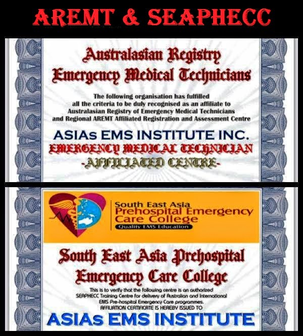 Asia\'s Emergency Medical Services Institute,Inc. - AEMS: February 2015