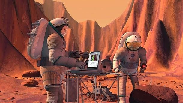 Como seria viver em Marte?