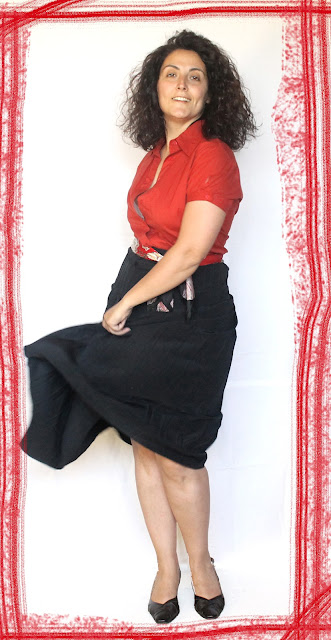 Embrace your curves wear red