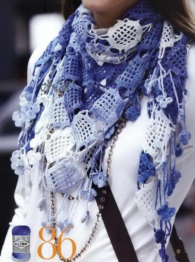 Crochet Patterns For Shawls : Crochet Shawls: Crochet Shawl Pattern - Shawl Scarf