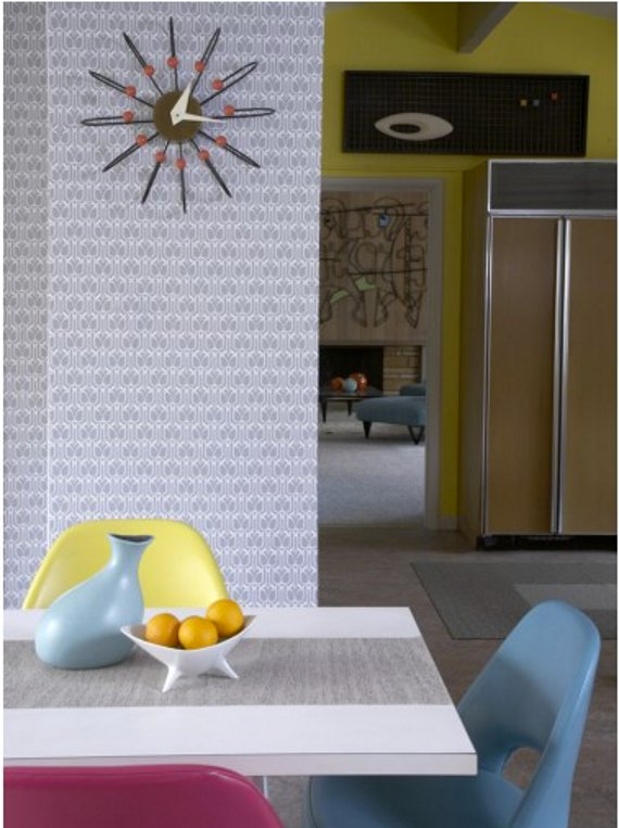 tempaper: temporary wallpaper part of a roundup of wall covering ideas for renters! lots of good ideas