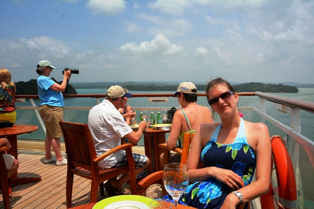 Gatun Lake Panama sun deck