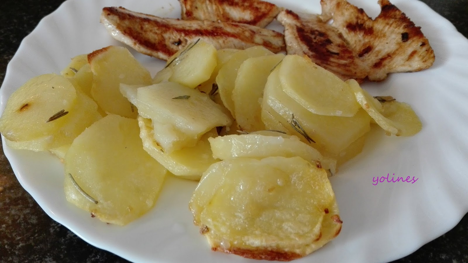 Vamos a cocinar con yoli e in s patatas para guarnici n - Cocinar facil y rapido ...
