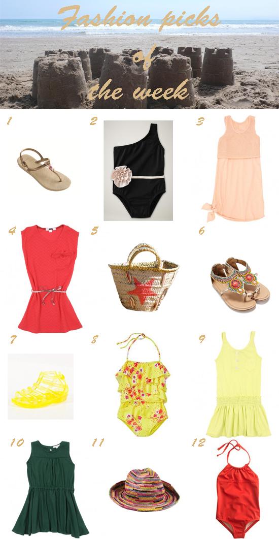 selección moda infantil pequeña fashionista