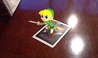 Link, suelto en mi comedor