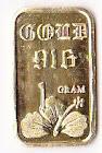Gold Bar 916 1Gram Keluaran Emas Kajang Trading