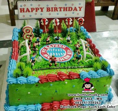 Kue Tart Bayern Munchen Daerah Surabaya Sidoarjo