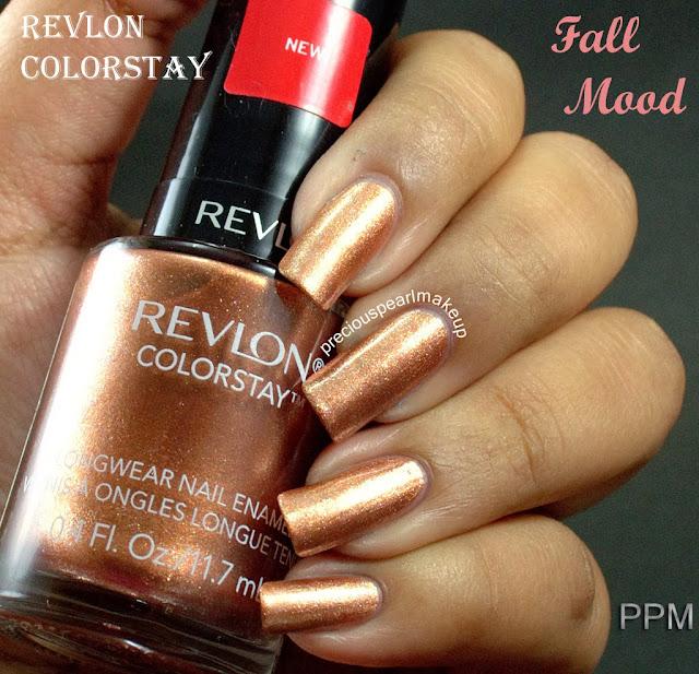 Revlon Sheer Nail Polish: Preciouspearlmakeup: Revlon Colorstay Nail Enamel In Rain