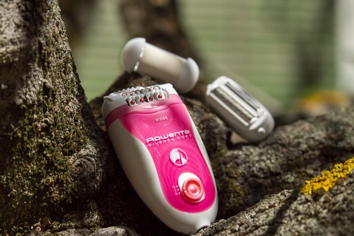 Maquina depilar eléctrica con luz nueva tecnología
