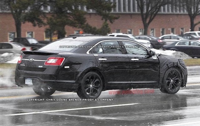 Spy Photos: 2012 Ford Taurus